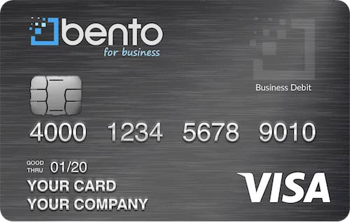 Corporate prepaid card - Bento for Business